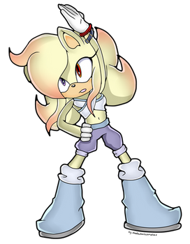 CM: Azalea the hedgehog Sonic Channel Style