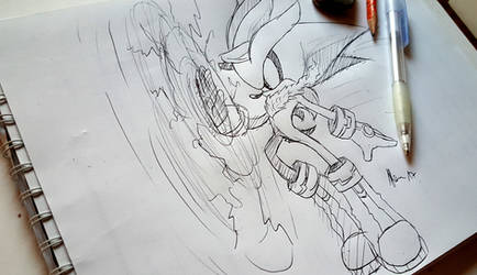 Silver the hedgehog (+ Video) by shadowhatesomochao