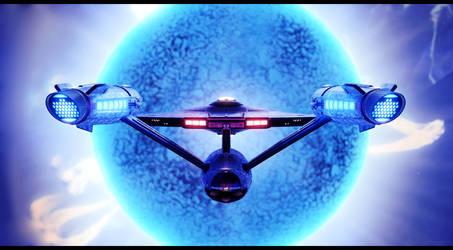 Discovery-era Enterprise - Cerulean