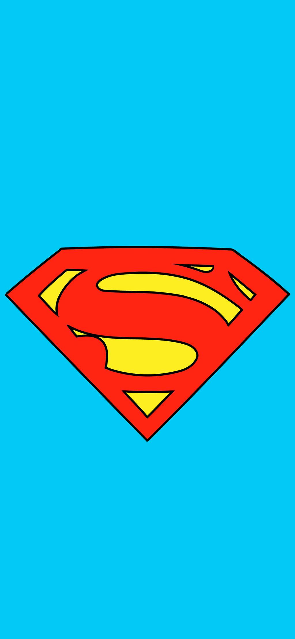 Superman Logo Iphone X Wallpaper By Jscomicart On Deviantart