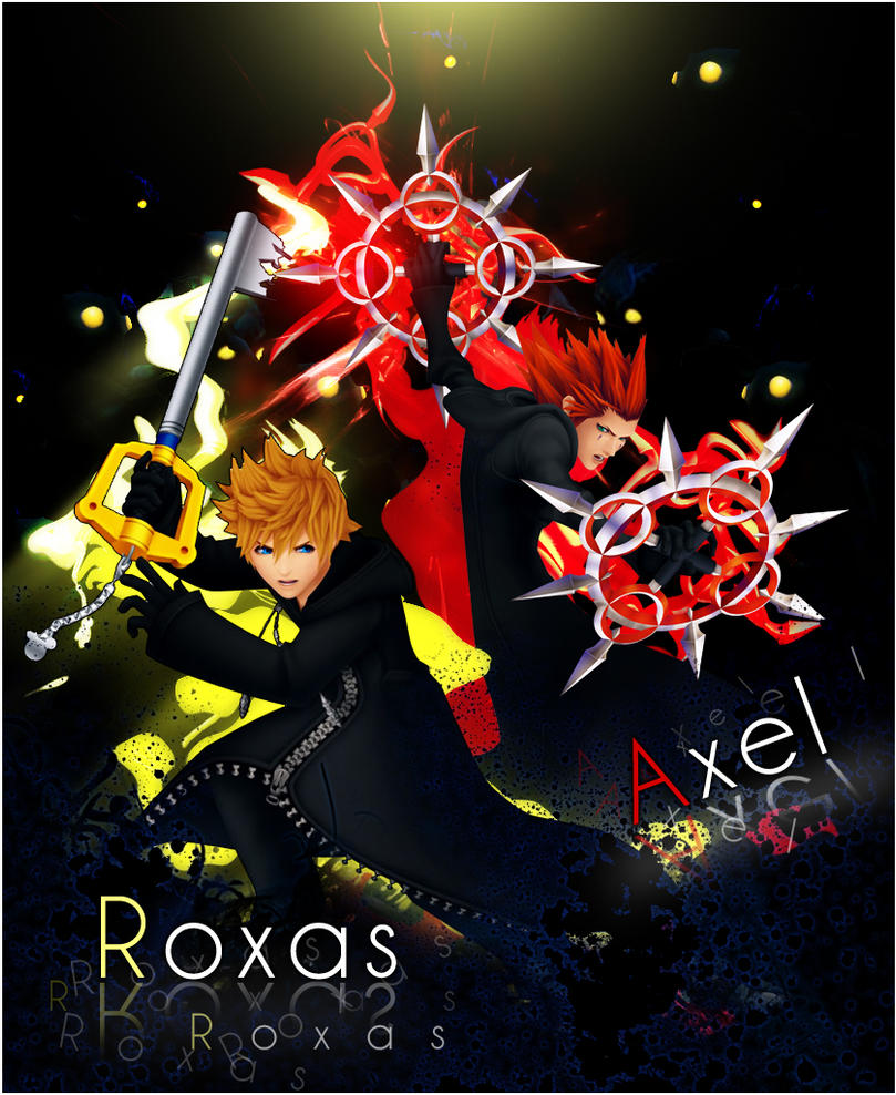 Roxas and Axel. by Otani5