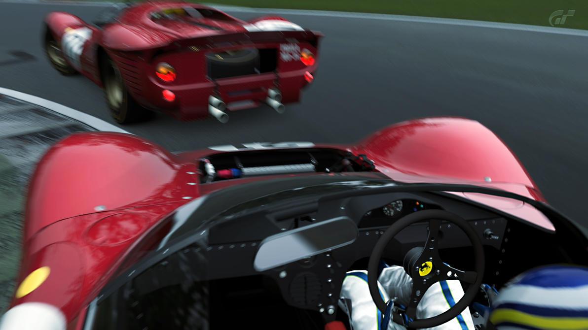 15 Monza - Ferrari 330 P4 Monza_7_by_otani5-d63icxv