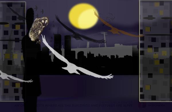 Owl City-Drawtober Day 28