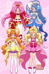 Glitter Cure - Go Princess Precure by AuroraDazzling
