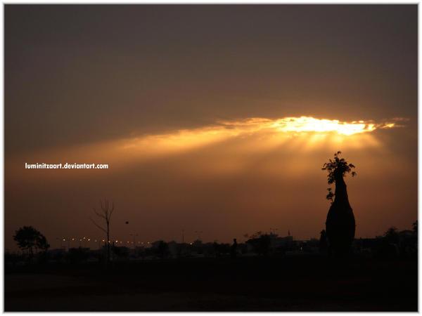 sunset by LuminitzaART