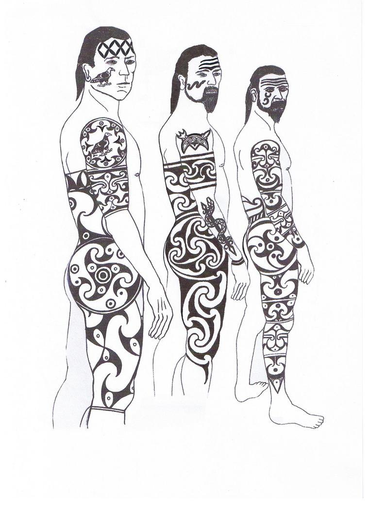 pictish tattoo by cinge on deviantart. Black Bedroom Furniture Sets. Home Design Ideas