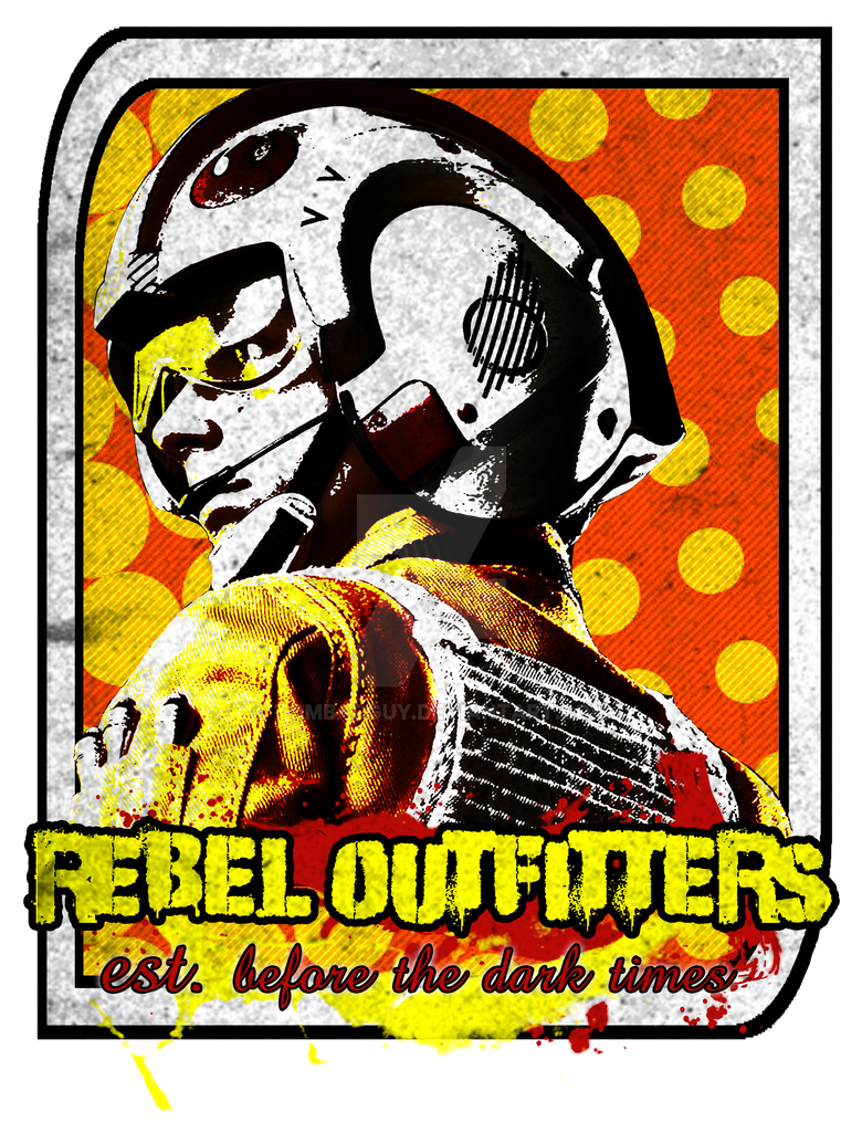 Rebel Outfitters T-Shirt by TomBadguy