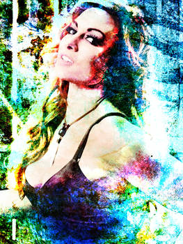 Becky Lynch Filters and Textures