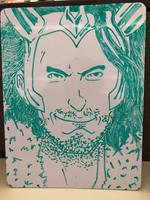 Loki on a White Board