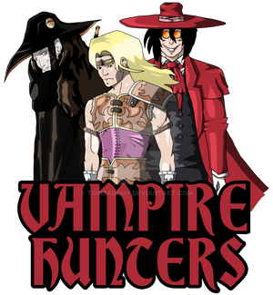 Vampire Hunter Team Up - Simon Belmont, D, Alucard