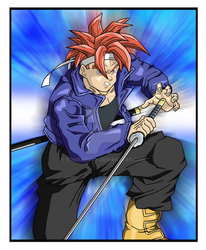 Crono in Trunks' Outfit - Chrono Trigger/DBZ