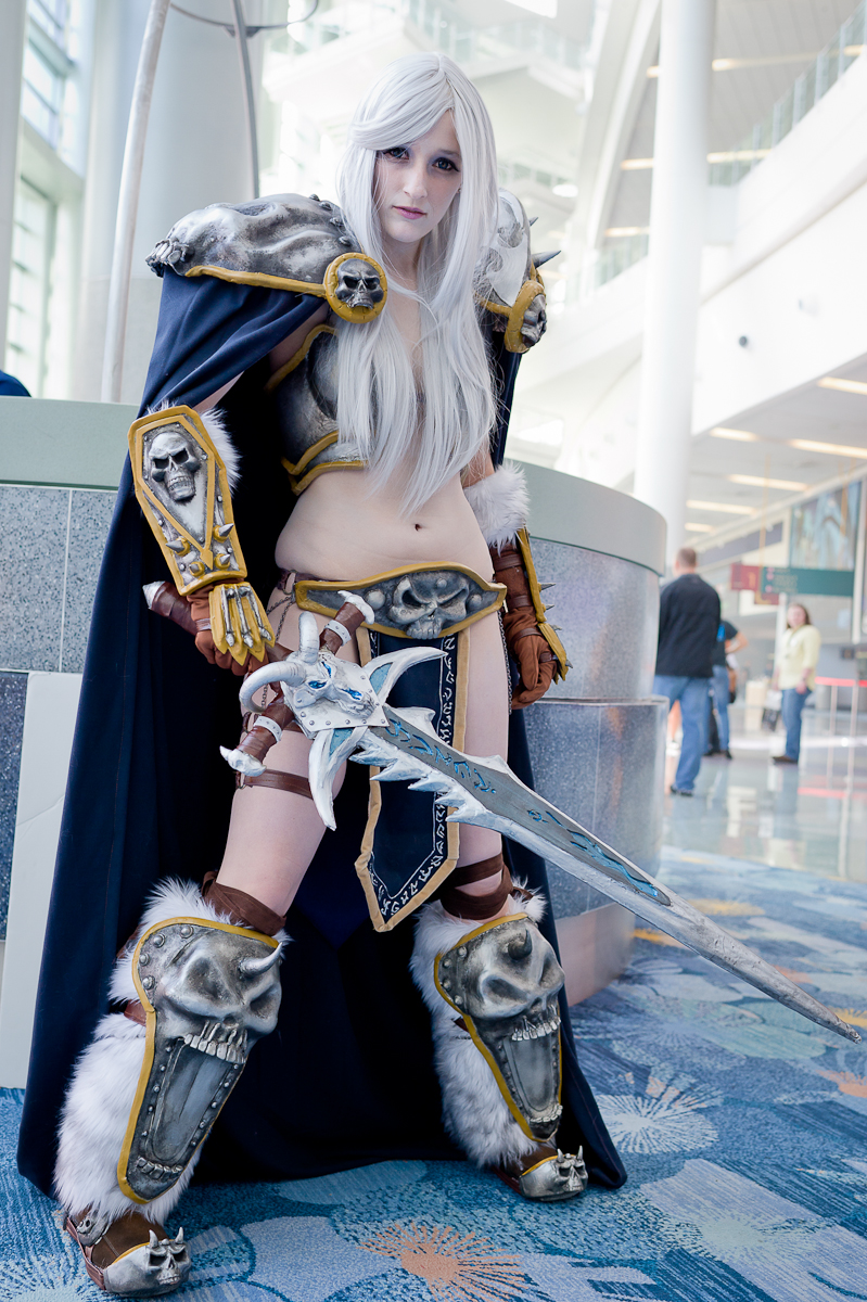Lady Arthas, The Lich Queen by Vash-Fanatic