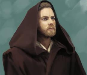 Obi-wan Kenobi by jonpintar
