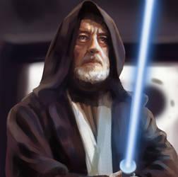 Obi-wan Kenobi 2 by jonpintar