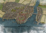 Meridian Town Map