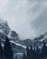 Snow storm by jonpintar