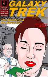 Galaxy Trek #2 Cover by UnloadComics