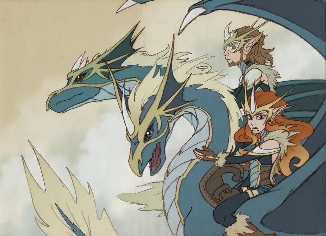 Dragon Riders by Ellucianne