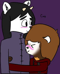 Platonic Friend Cuddles