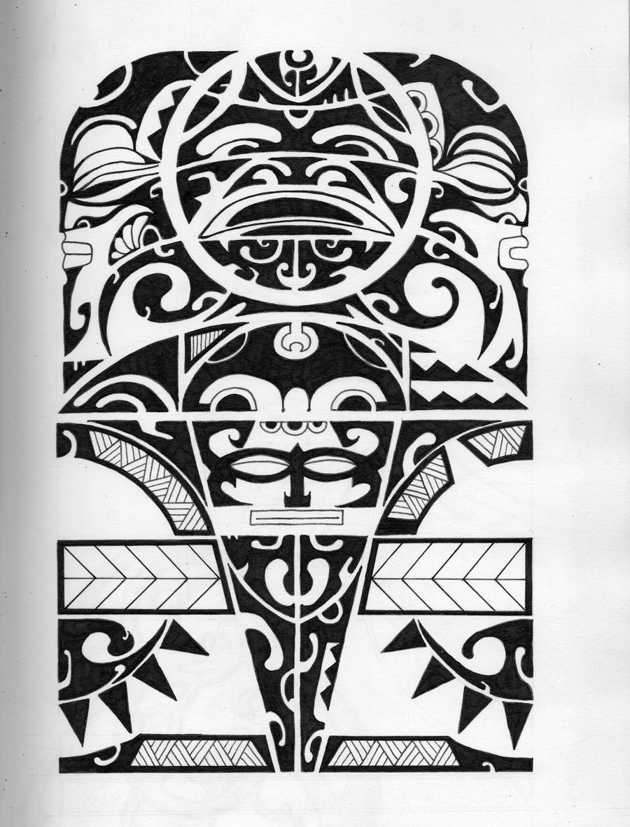 Inca forearm design by funkt-green