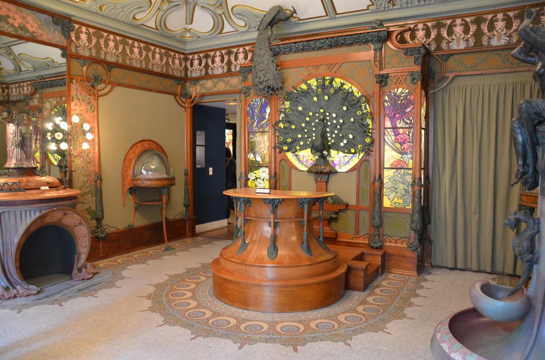 Alphonse mucha room 3 by vinanti on deviantart for Andrieux la maison du vitrail