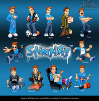 Mascot design for Stimplify by SOSFactory