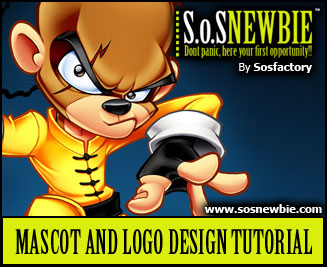 Mascot and logo tutorial by SOSFactory