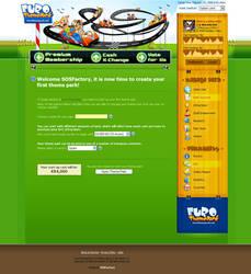 Web design: Eurothemepark by SOSFactory