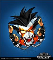 Mascot design: Killer Guitar by SOSFactory