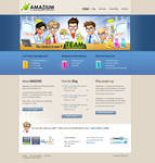 Web design: Amazium