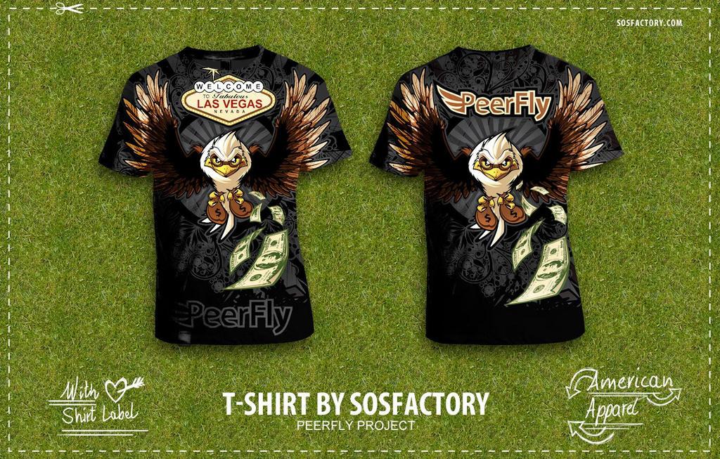 Tshirt: Peefly by SOSFactory