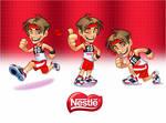 Mascot design for Nestle