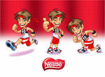 Mascot design for Nestle