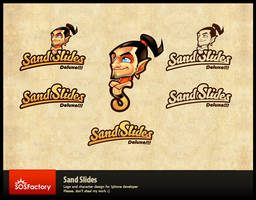 Brand Identity for Sand Slides by SOSFactory