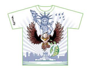 Tshirt: Peefly NY by SOSFactory