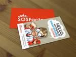 SOSFactory business card.