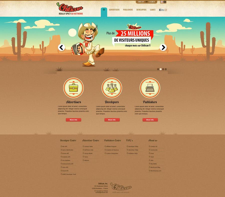 Chilican Web Design by SOSFactory