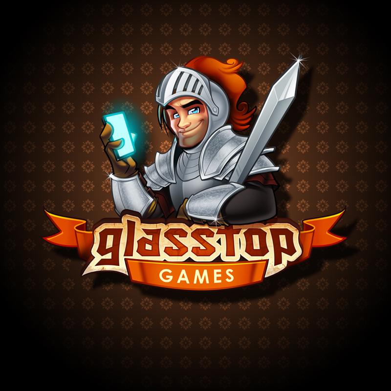 Glasstop Games Logo design by SOSFactory