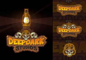Logo design for Deep Dark Studios