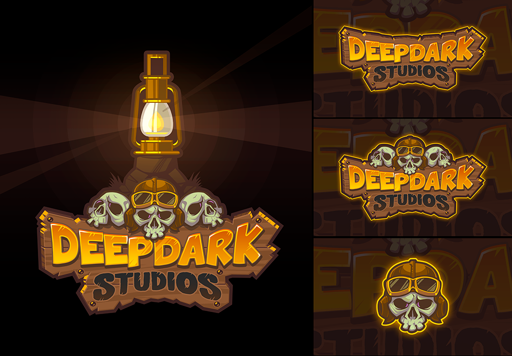 Logo design for Deep Dark Studios by SOSFactory