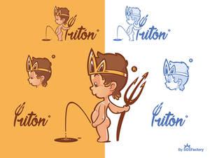 Triton Mascot logo