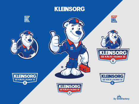 Mascot logo for Kleinsorg