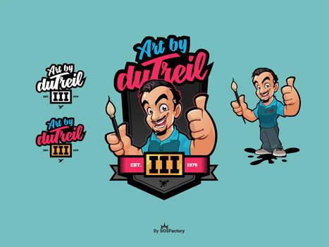 Mascot logo for Art By Dutreil III