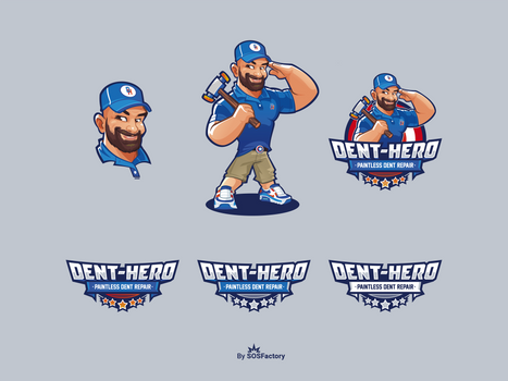 Dent Hero Logo Design