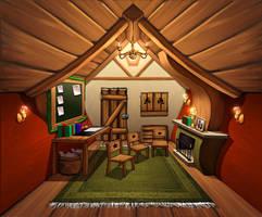 Papa noels house by SOSFactory