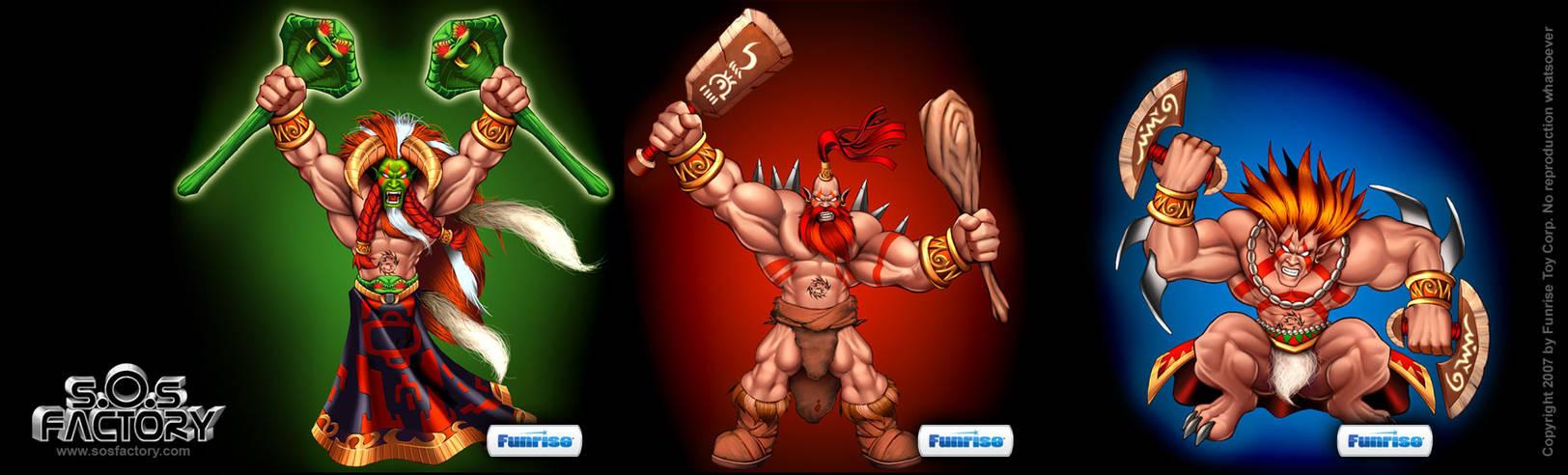 Funrise warriors