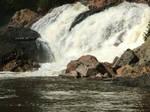giant waterfall stock