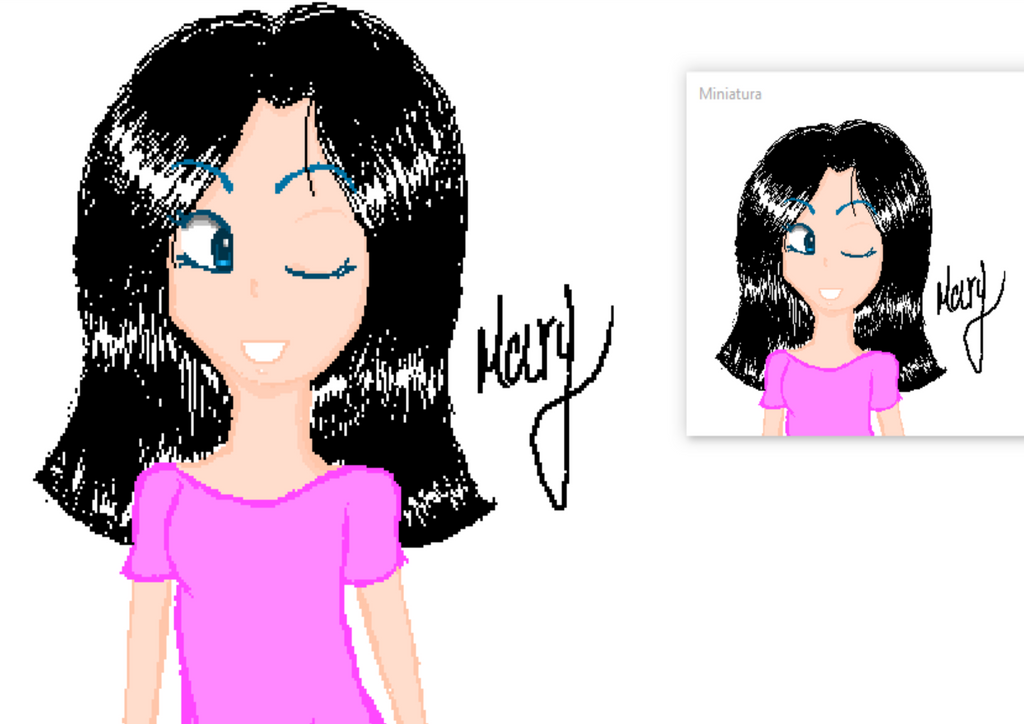 Un dibujo en paint by MaryAngie98