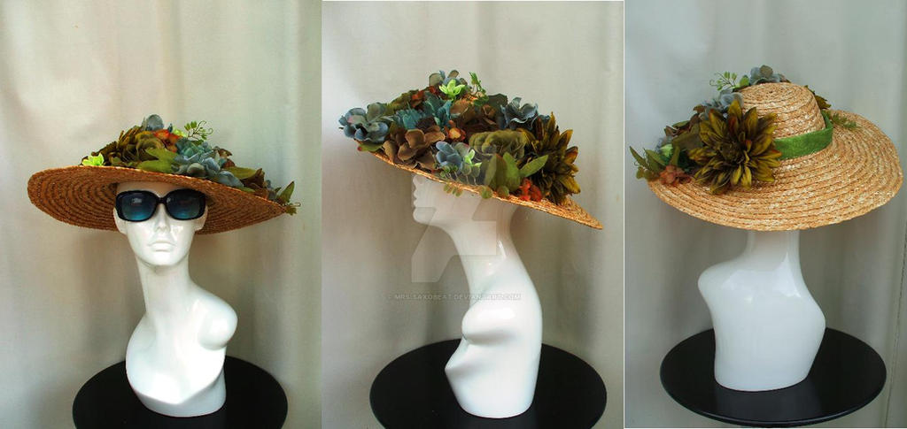 Wide-Brim Sunhat by Mrs-SaxoBeat