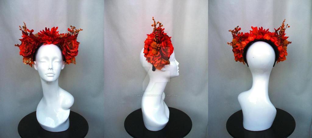 La deesse de l'automne by Mrs-SaxoBeat